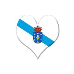 Corazón de Galicia.