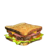 toast steack bacon
