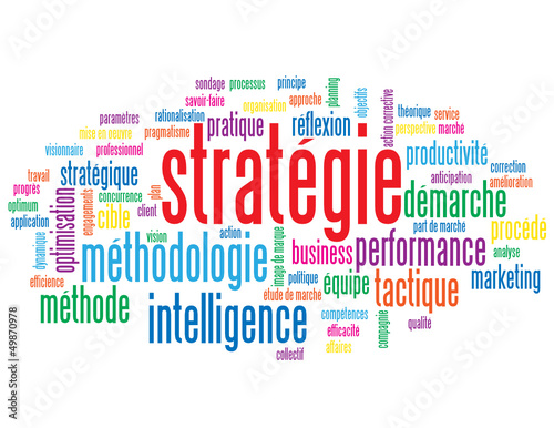 Nuage de Tags STRATEGIE (tactique intelligence idées management)