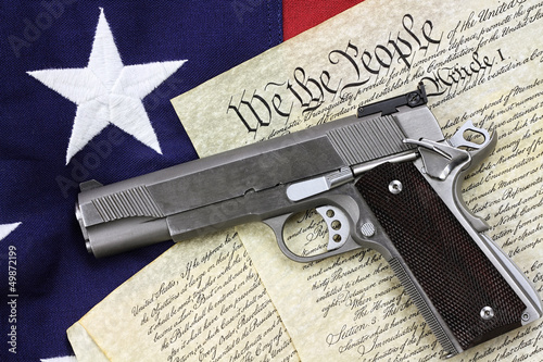 Gun and Constitution - 49872199
