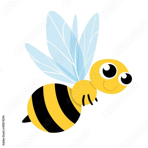 Bee Cute Cartoon
