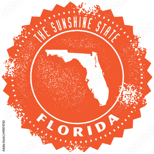 Florida USA State Stamp/Seal