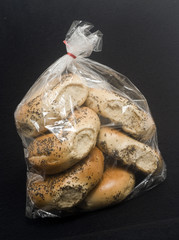 bag of poppy seed bagels