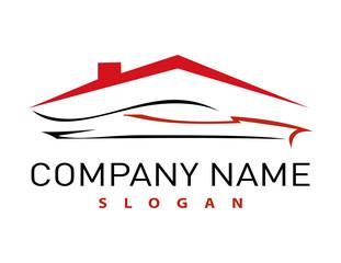 house and auto logo
