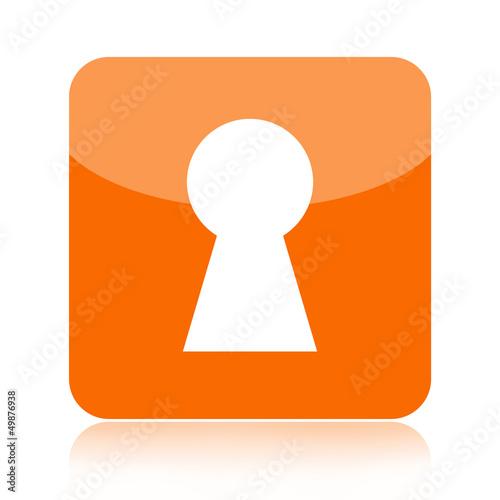 Key hole icon
