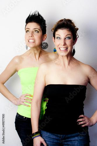 Zwei verrückte Frauen