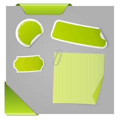 Etiquette et outil de mise en page