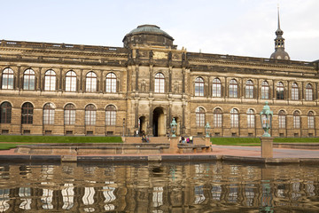 The Old Masters Picture Gallery in Dresden, Germany
