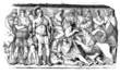 Ancient Rome - Bas-Relief : Heroic Scene