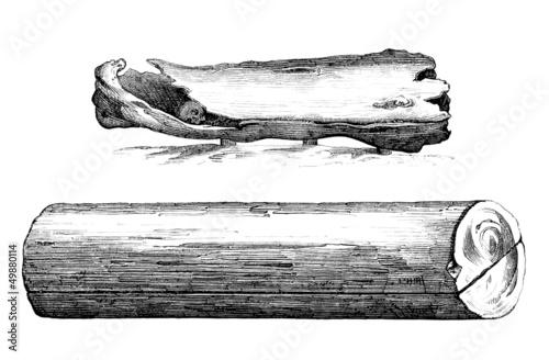 Medieval Wood Coffins - Cercueils en Bois - 9th-10th century