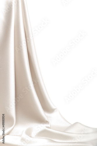 Drop-down satin fabric