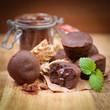 Kleine Schokoladenkuchen