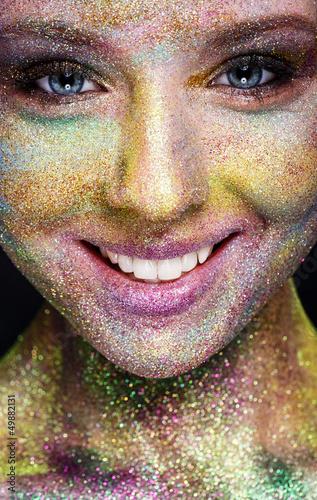Fototapeten,fantasie,makeup,makeup,close-up