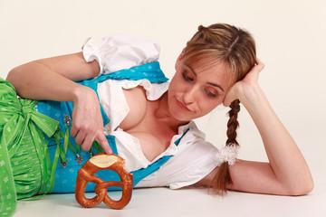 Porträt einer bayerischen Frau