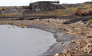 ocean coast dump