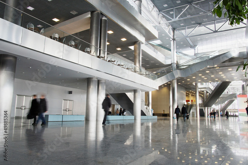 Leinwandbild Motiv shopping center