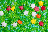 Confectionery beads poster