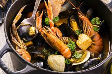 Meeresfrüchte - Eintopf