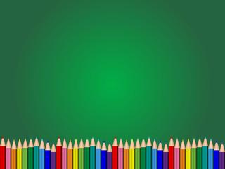 鉛筆 - 下(緑)