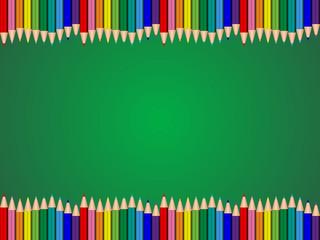 鉛筆 - 上下(緑)