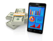 concept of technology and finance
