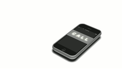 スマートフォンに着信