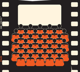 movie theater - film strip