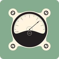 analog meter dial