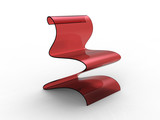 Plastic Curvy Chair