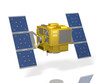 Miniature model of a hypothetical satellite