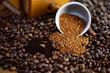 Kaffee, Bohnen, Löslich