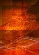 textured orange background