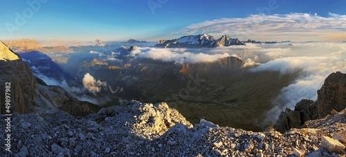 Leinwandbilder,panorama,berg,europa,eis