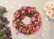 canvas print picture - Blumen, Blüten, Blumengesteck, gebunden, Dekoration,