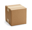 Brown Cardboard Box - 49901197