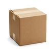 canvas print picture - Brown Cardboard Box