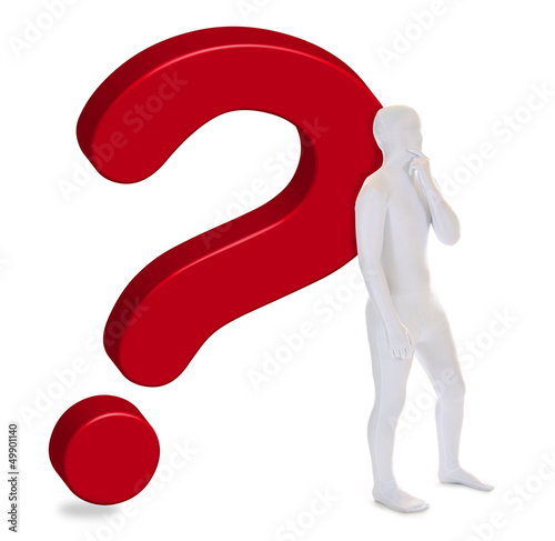 Zentai – Morphsuit – Fragezeichen
