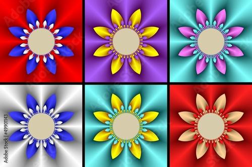 fraktal çiçek