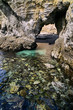 海岸のトンネル