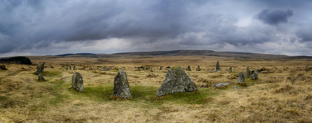 Scorhill Stone Circle on Dartmoor