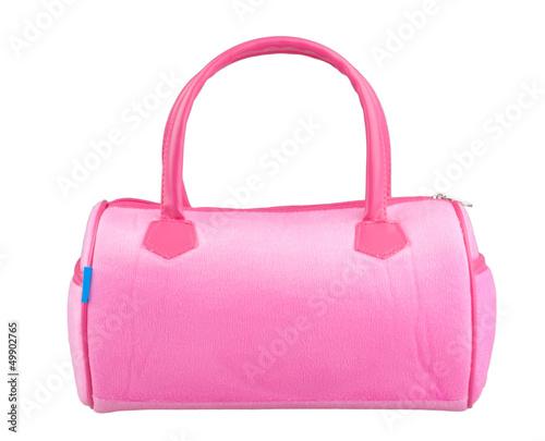 Nice pink woman handbag