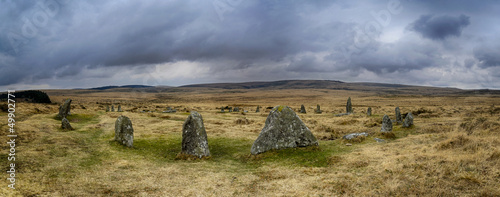 Scorhill Stone Circle on Dartmoor