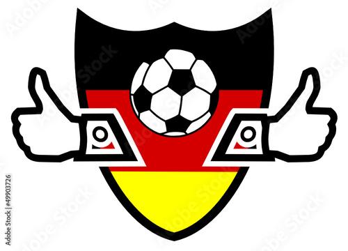 I like German soccer