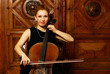 Girl cellist