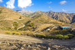 A beautiful mountain scape panorama in Gran Canaria, Spain