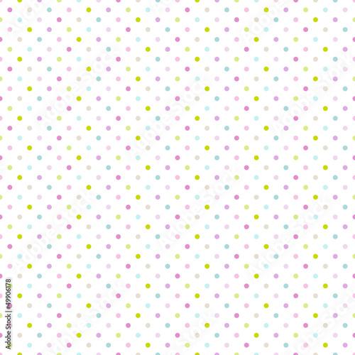 Seamless Pattern Dots Pastel