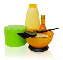 Средства по окраске и уходу за волосами