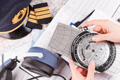 Airplane pilot equipment - 49906931