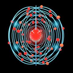 Atom - 3D Render