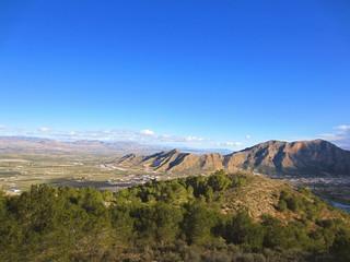 Sierras de Callosa y Orihuela y Vega Baja Alicante